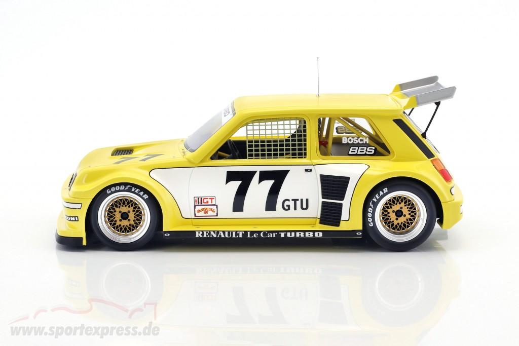 OTTO 1//18 Renault #77 Le Car Turbo IMSA OT261