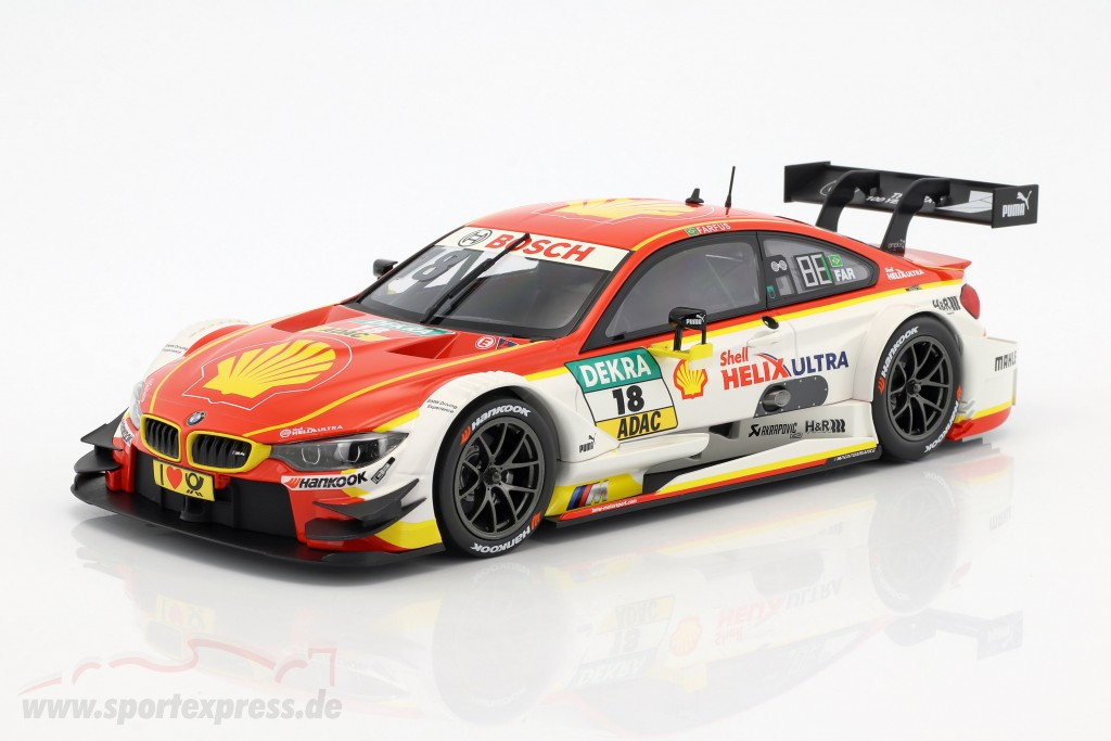 Augusto Farfus BMW M4 DTM #18 DTM 2016 BMW Team MTEK