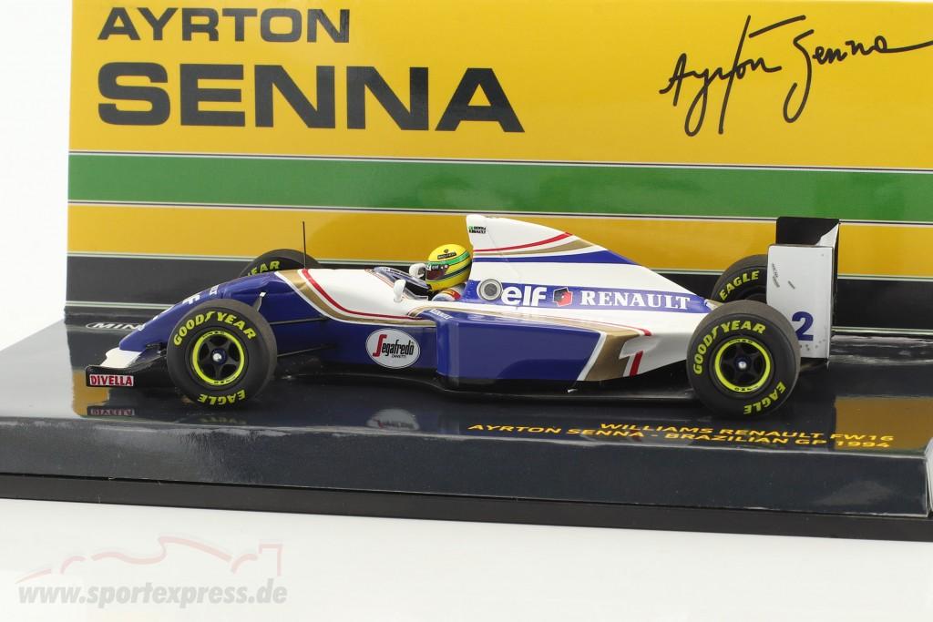 Ayrton Senna Williams FW16 #2 Brasilien GP Formel 1 1994