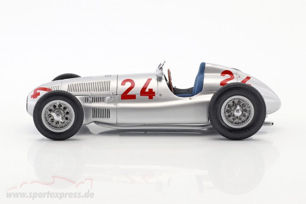 R. Carracciola Mercedes-Benz W165 #24 formula 1 Tripolis 1939