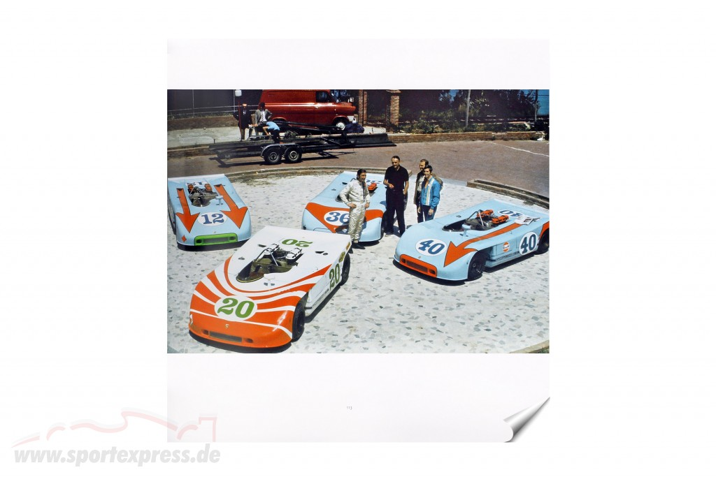 Book: The Era the Porsche Prototypes - 1964 to 1973