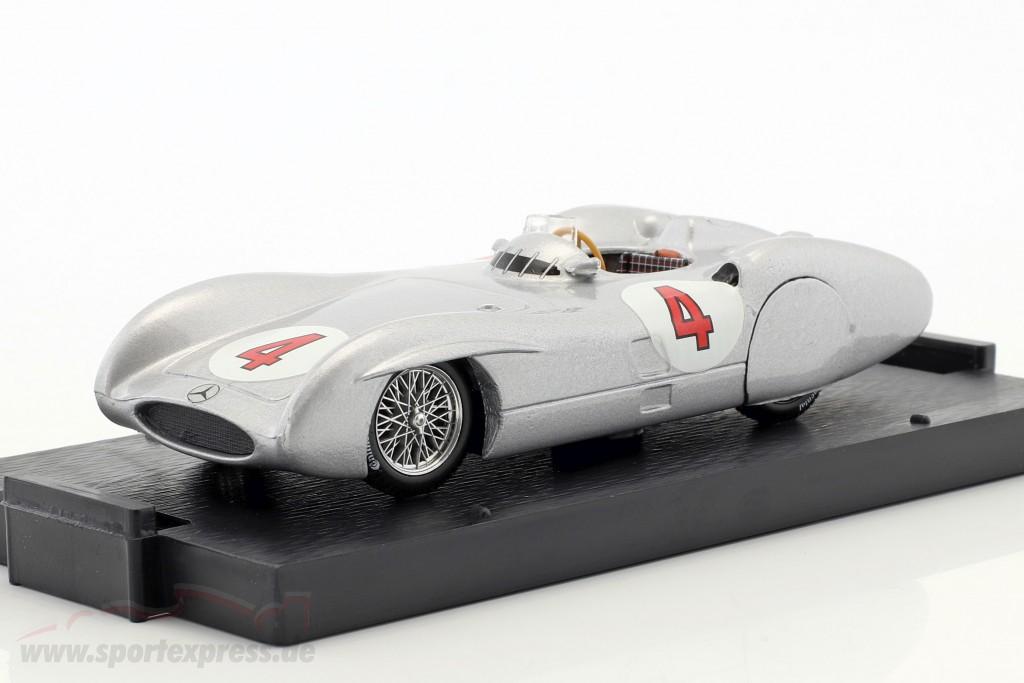 Karl Kling Mercedes W196C #4 test Avus formula 1 1954