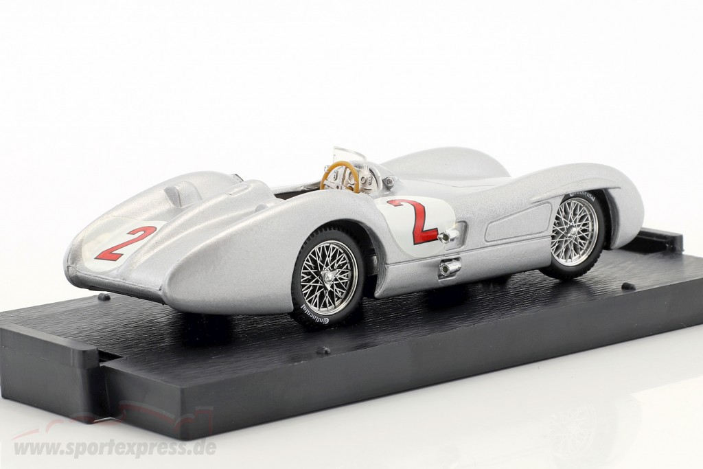 Karl Kling Mercedes W196C #2 British GP formula 1 1954