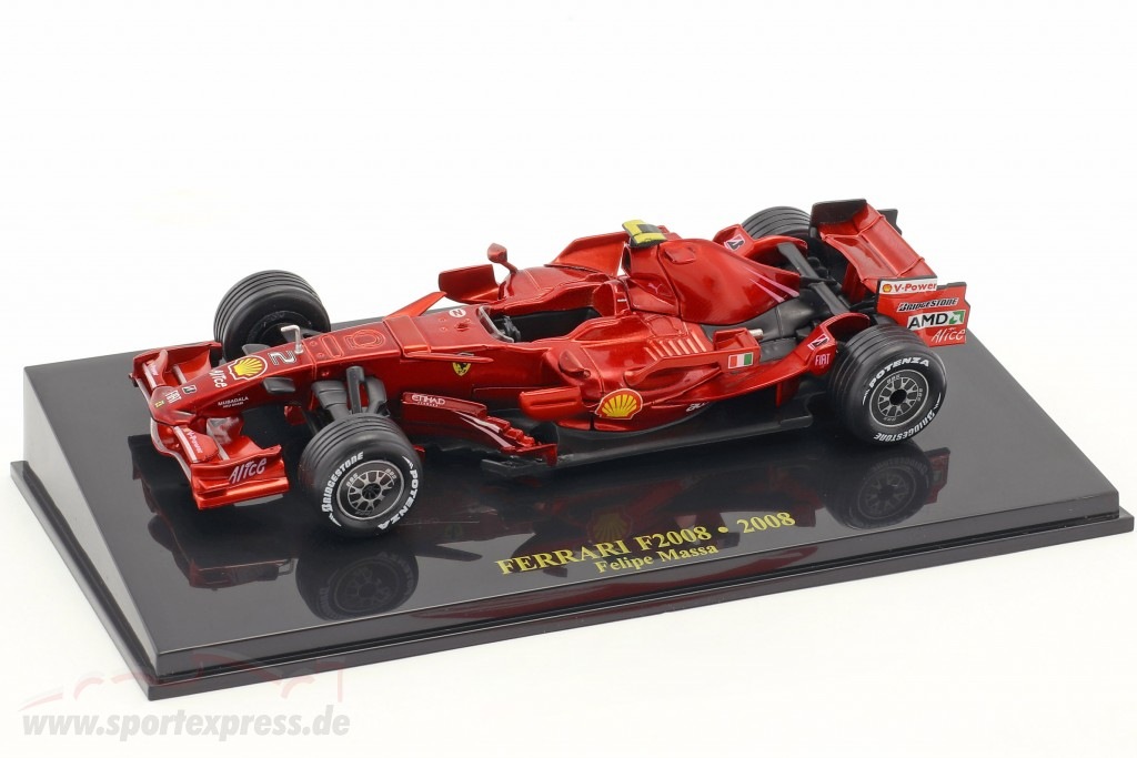 Felipe Massa Ferrari F2008 #2 Formel 1 2008 mit Vitrine