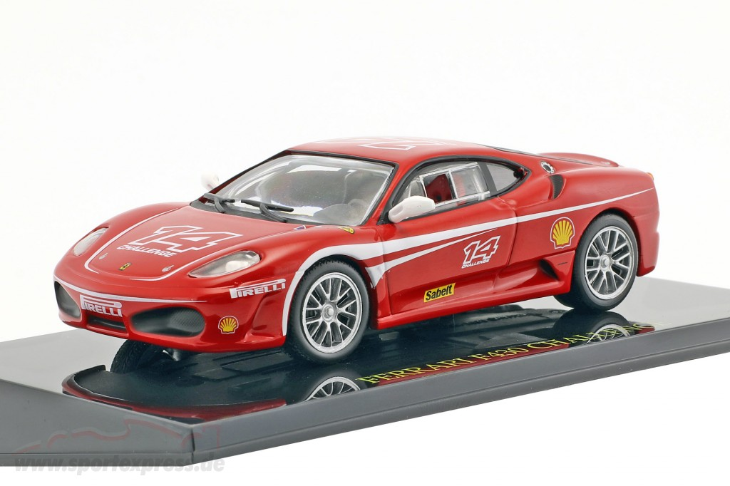 Ferrari F430 Challenge 14 Red With Showcase Ck47118
