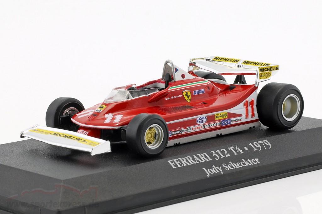 Jody Scheckter Ferrari 312 T4 #11 Weltmeister Formel 1 1979