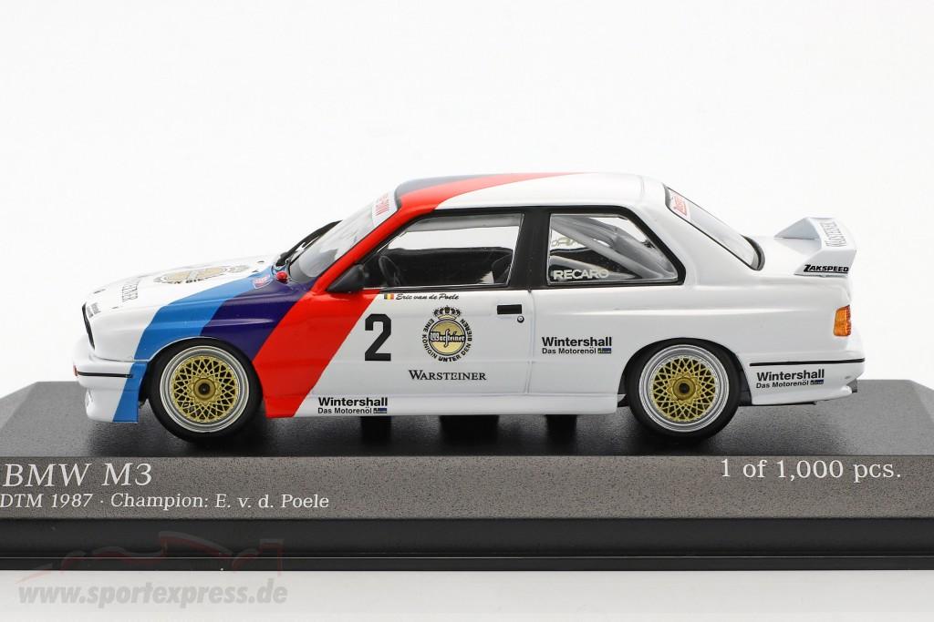 BMW M3 (E30) #2 DTM Champion 1987 Eric van de Poele