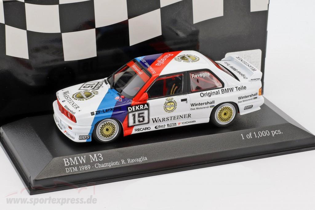 BMW M3 (E30) #15 DTM Champion 1989 Roberto Ravaglia