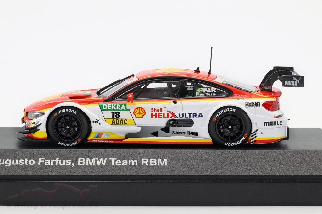 DTM Farfus 2015 1:43 Minichamps BMW M4 #18