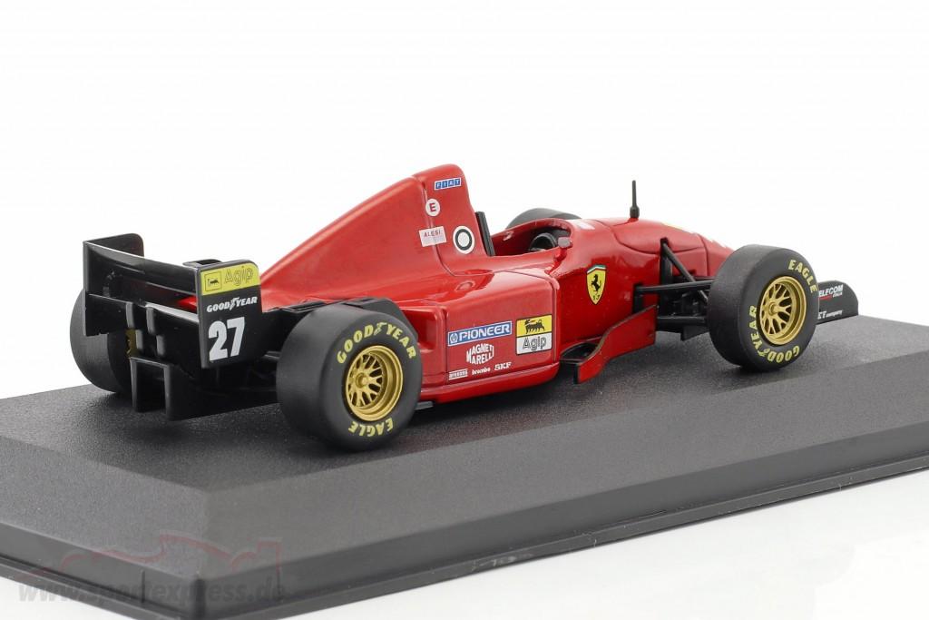 Jean Alesi Ferrari 412 T2 #27 Formel 1 1995