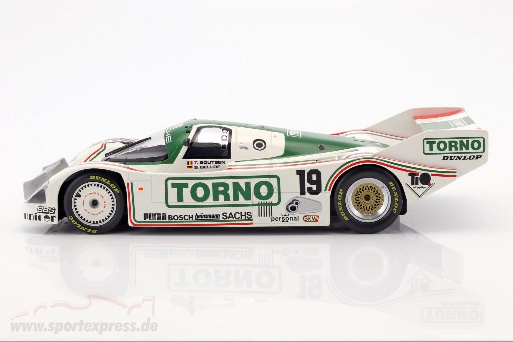 Porsche 962 C #19 3rd 1000km Mugello 1985 Bellof, Boutsen