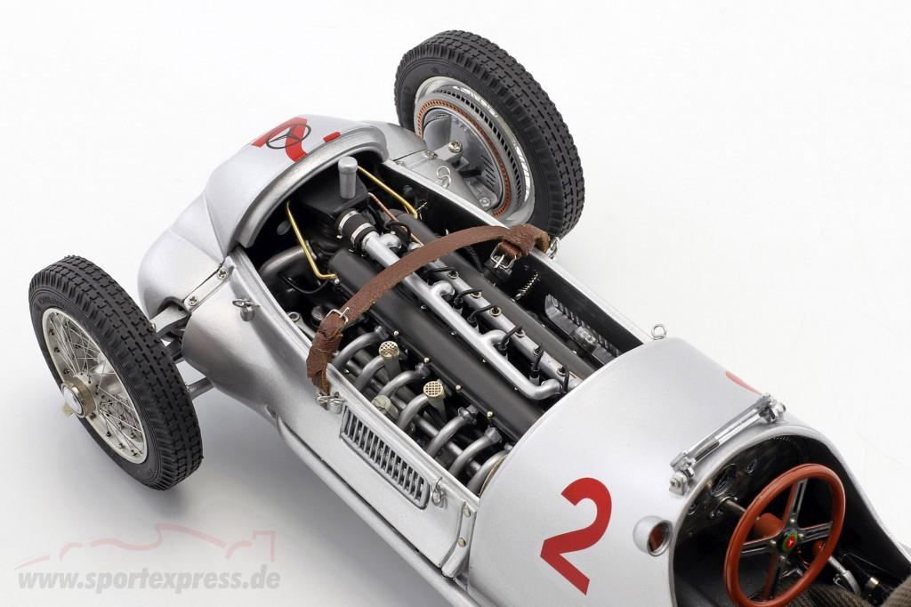 Hermann Lang #2 Mercedes Benz W125 GP Donington Formula 1 1937