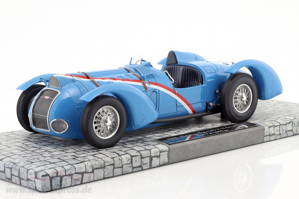 Delahaye Type 145 V-12 Grand Prix Year 1937 blue