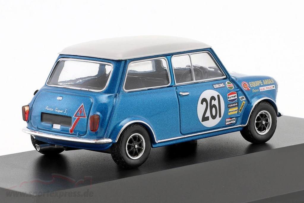 Alec Poole Austin Mini Cooper S #261 BTCC Champion 1969