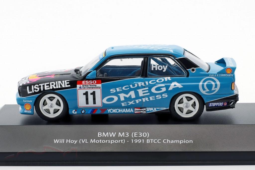 Will Hoy BMW M3 (E30) #11 BTCC Champion 1991