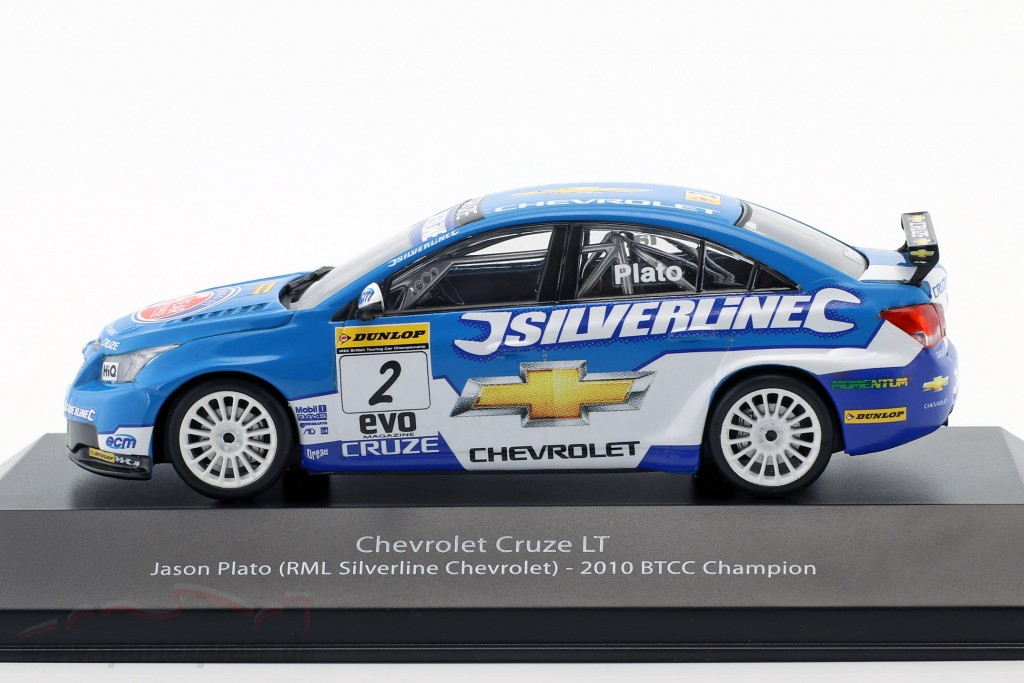 Jason Plato Chevrolet Cruze LT #2 BTCC Champion 2010
