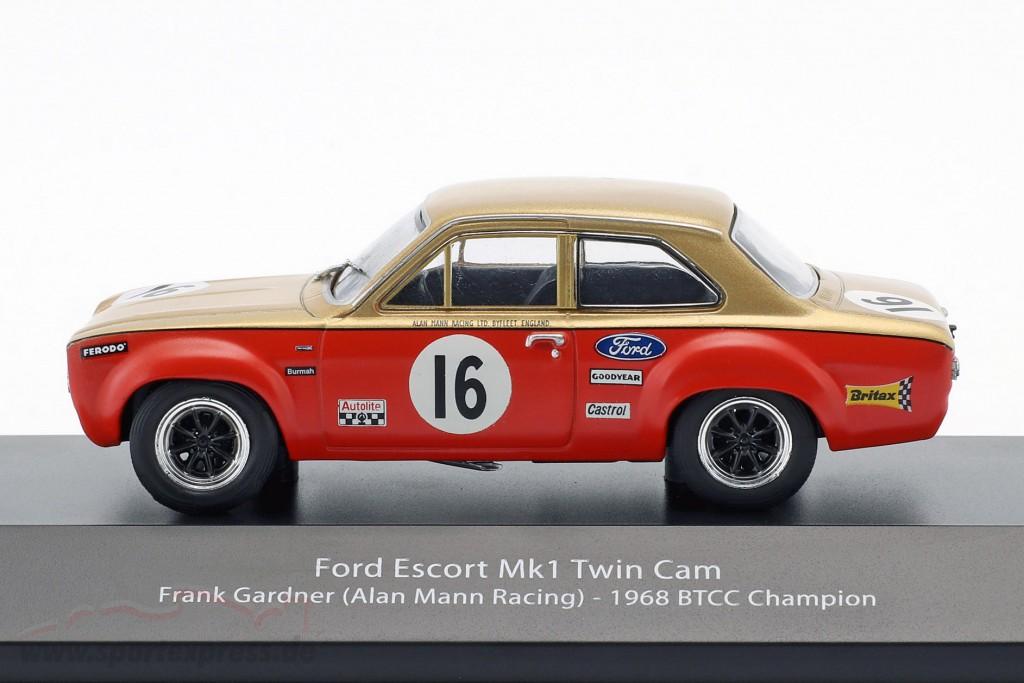 Ford Escort Mk1 Twin Cam #16 BTCC  1968 gardner 1//43