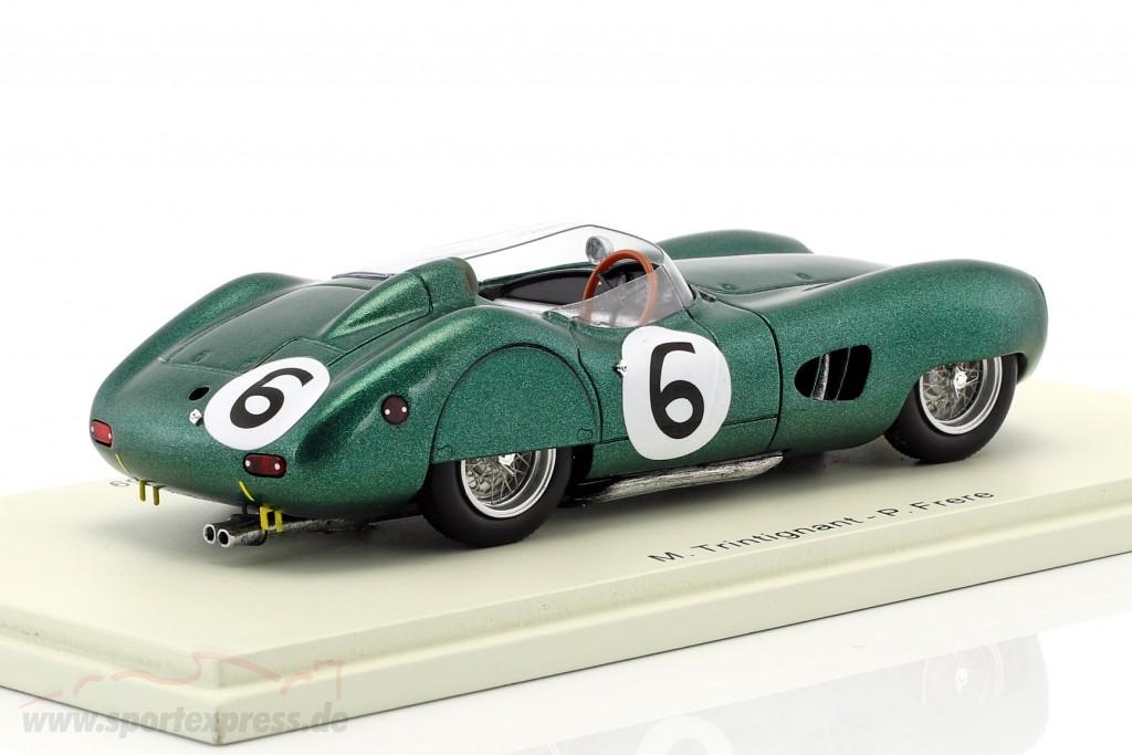 Aston Martin Dbr1 6 2nd 24h Le Mans 1959 Trintignant Frere S2439 Ean 9580006924391