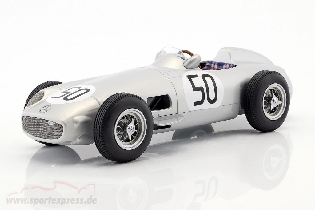 Piero Taruffi Mercedes-Benz W196 #50 4th British GP formula 1 1955