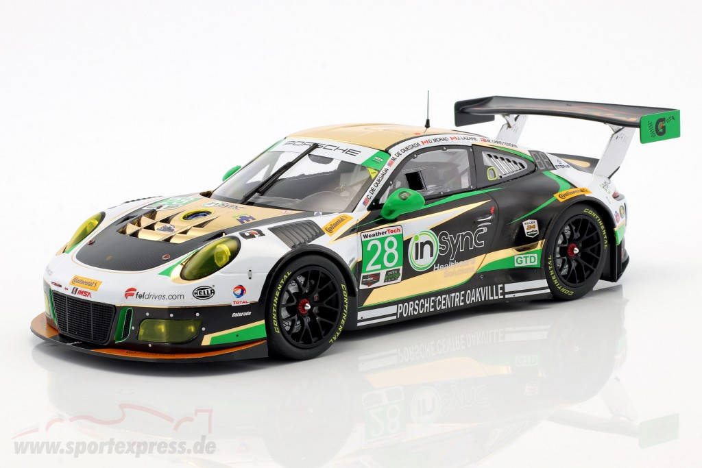 991 GT3 R Class Winner 24h Daytona 2017 1:18 Minichamps Porsche 911