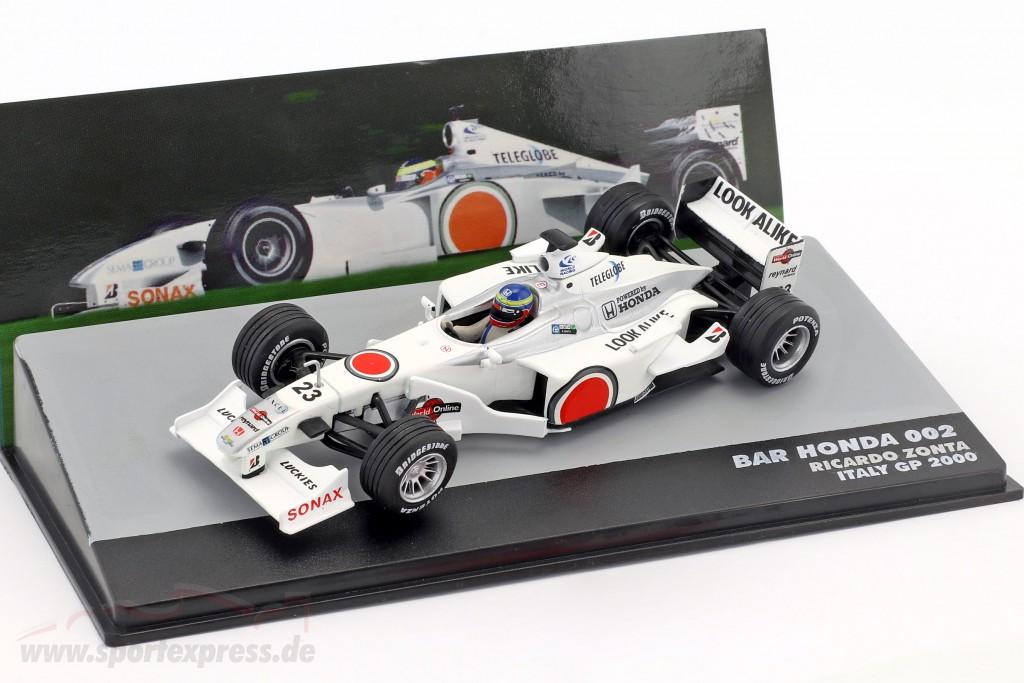 Ricardo Zonta BAR 002 #23 Italy GP formula 1 2000