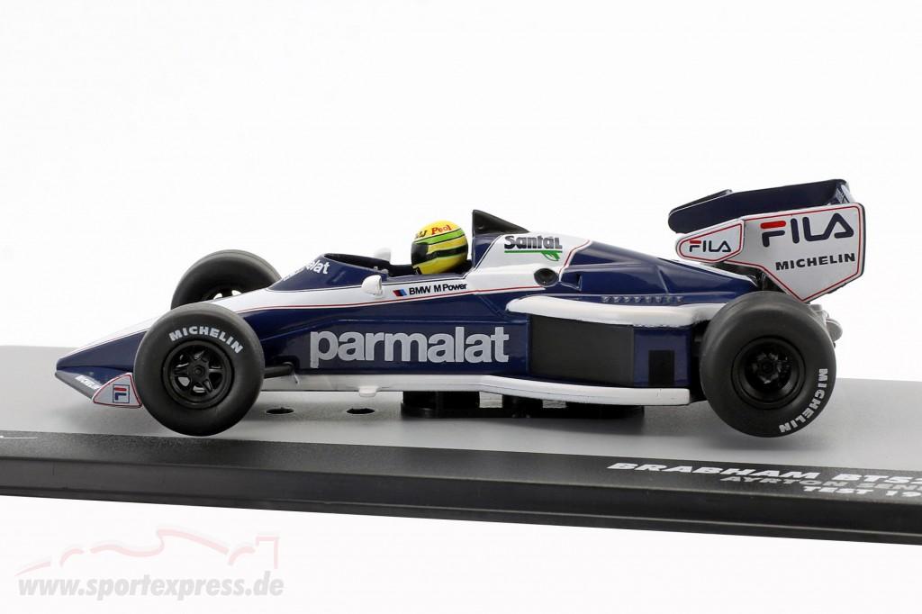 Ayrton Senna Brabham BT52B Test Formel 1 1983
