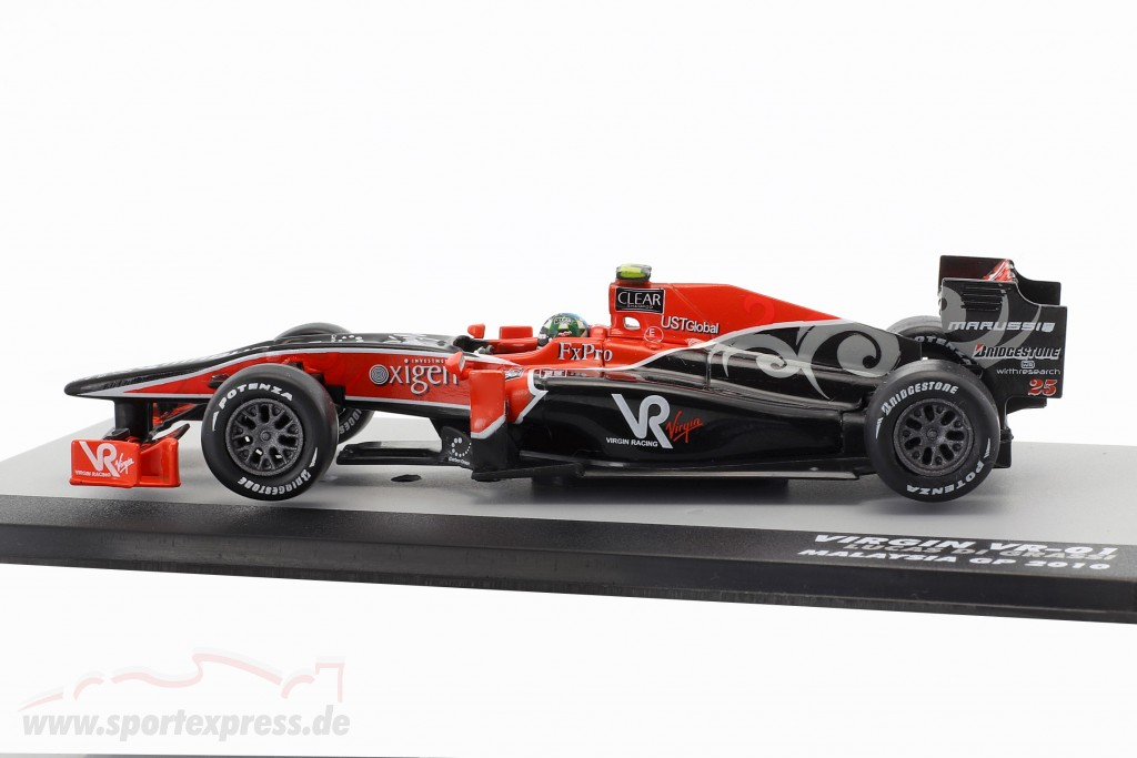 Lucas di Grassi Virgin VR-01 #25 formula 1 2010