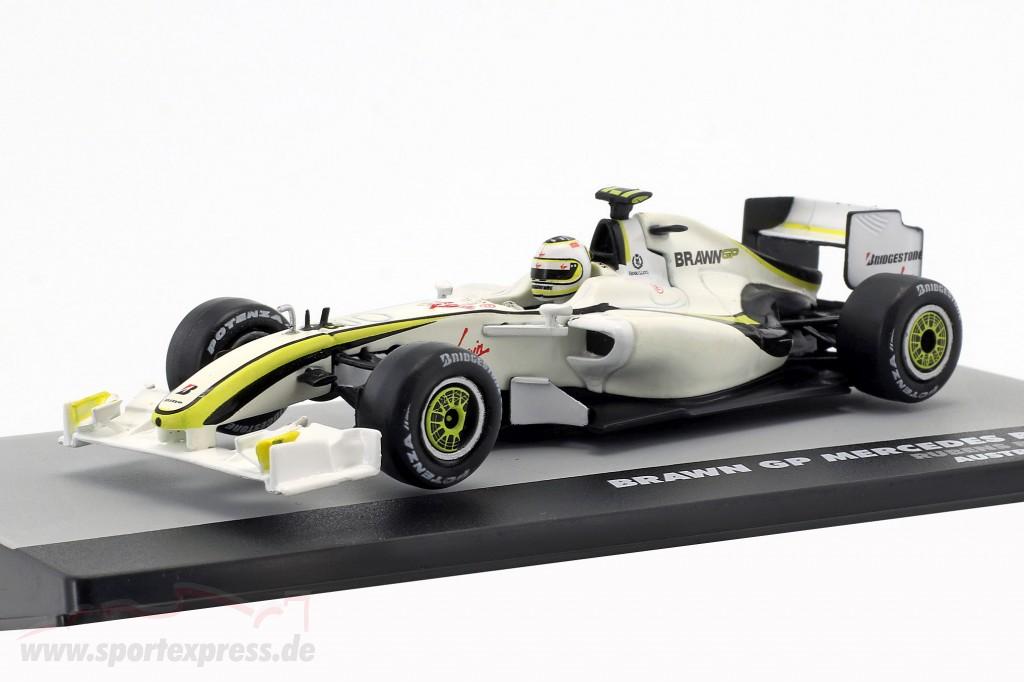 Rubens Barrichello Brawn BGP 001 #23 2nd Australia GP formula 1 2009
