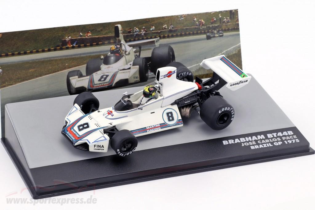 Carlos Pace Brabham BT44B #8 Winner GP Brazil Formula 1 1975
