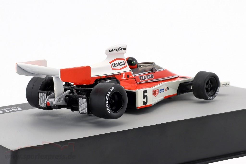 E. Fittipaldi McLaren M23 #5 World Champion Spain GP formula 1 1974
