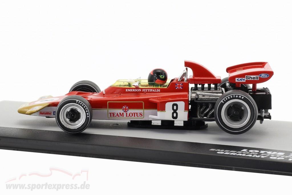 Emerson Fittipaldi Lotus 72D #8 Germany GP Formula 1 1971