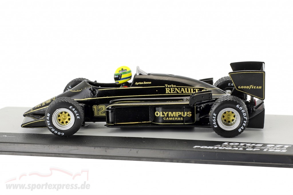 Ayrton Senna Lotus 97T #12 Winner Portugal GP formula 1 1985