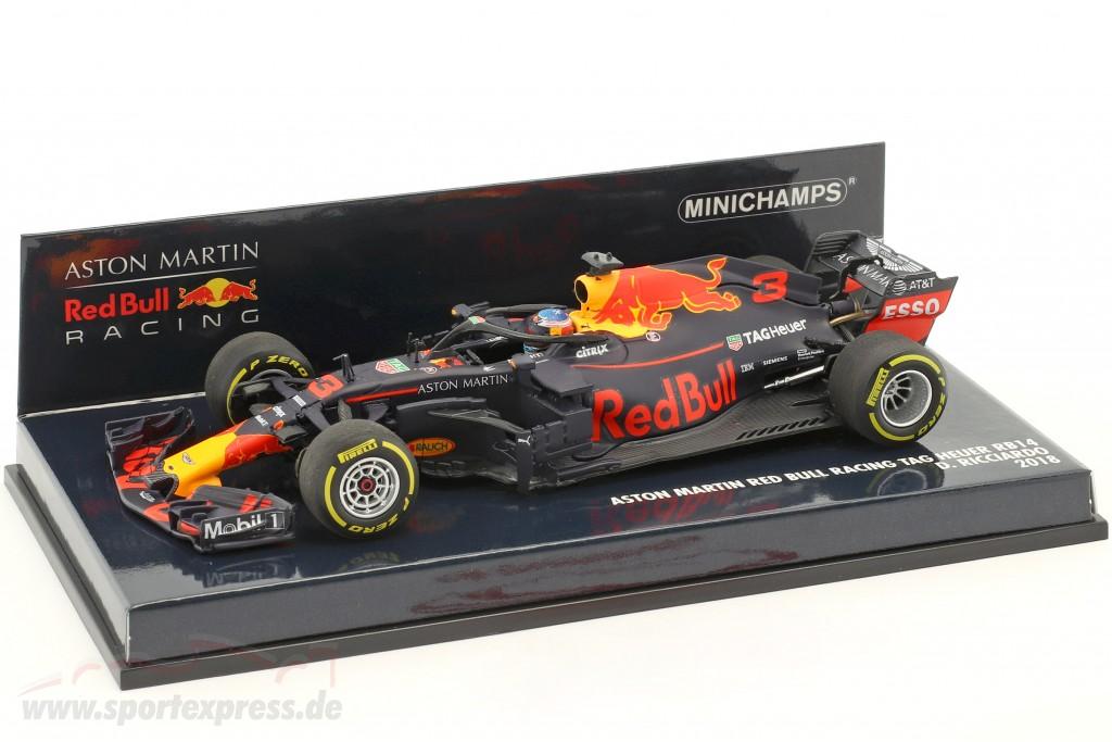 Daniel Ricciardo Red Bull Racing RB14 #3 formula 1 2018