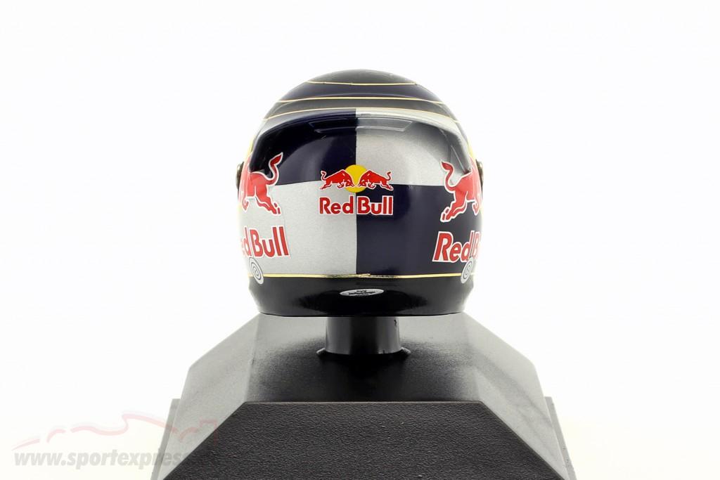 S. Vettel Red Bull GP Silverstone formula 1 2009 helmet