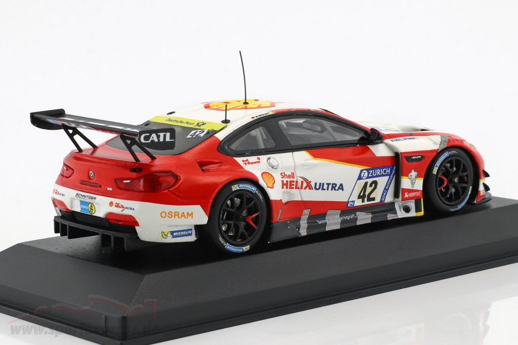 BMW M6 GT3 #42 4th 24h Nürburgring 2017 Wittmann, Blomqvist, Tomczyk, Farfus
