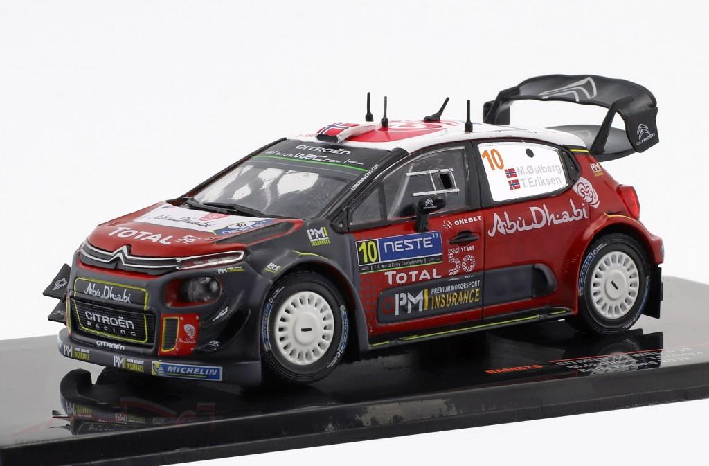 Citroen C3 WRC #10 2nd Rallye Finland 2018 Ostberg, Eriksen