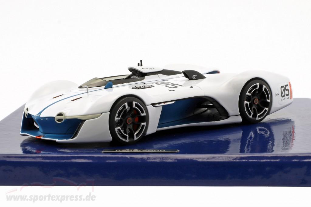 Alpine Vision Gran Turismo white / blue