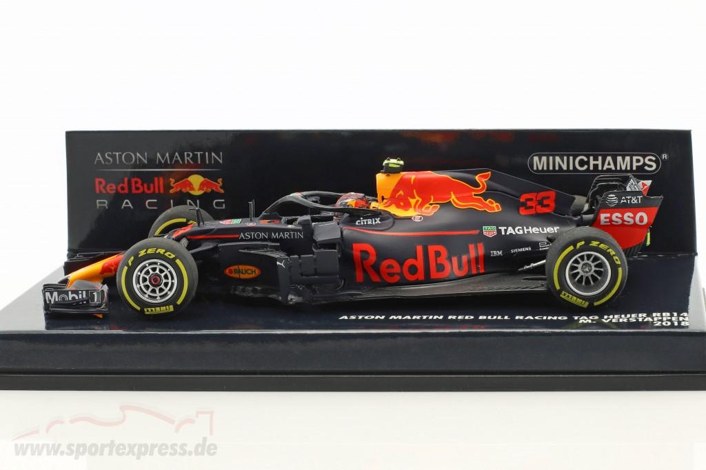 Max Verstappen Red Bull Racing RB14 #33 formula 1 2018