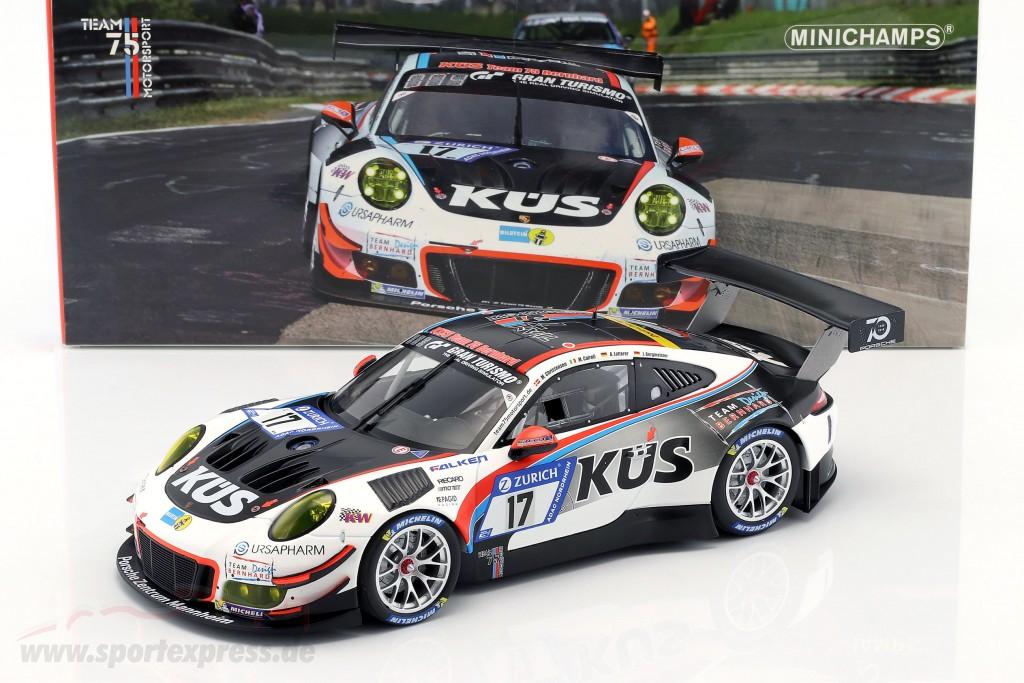 Porsche 911 GT3 R #17 24h Nürburgring KÜS Team 75 Bernhard
