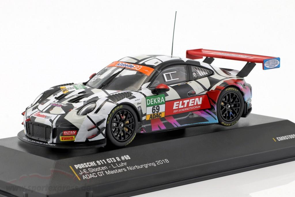 Porsche 911 (991) GT3 R #69 ADAC GT Masters 2018 Iron Force