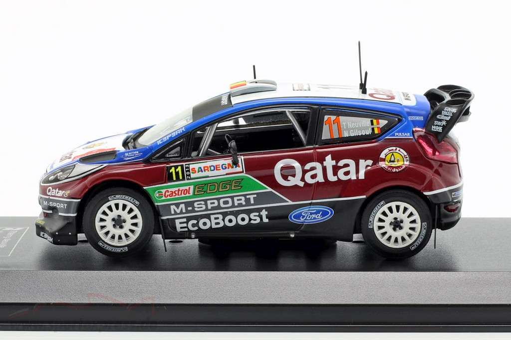 1:43 Direkt Collections Ford Fiesta  RS WRC #11 Rally Italy