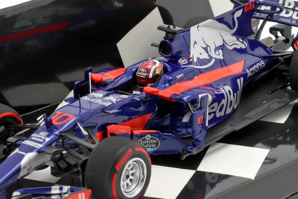 Pierre Gasly Toro Rosso STR12 #10 F1 Debut japanese GP 2017