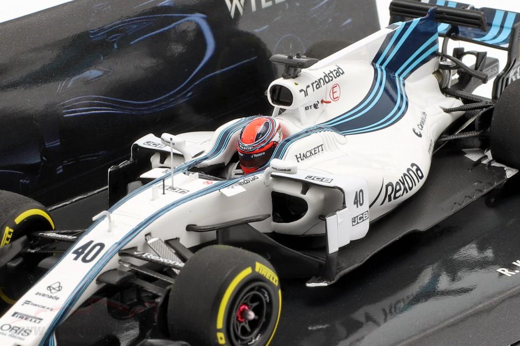 Robert Kubica Williams FW40 #40 formula 1 test Abu Dhabi 2017