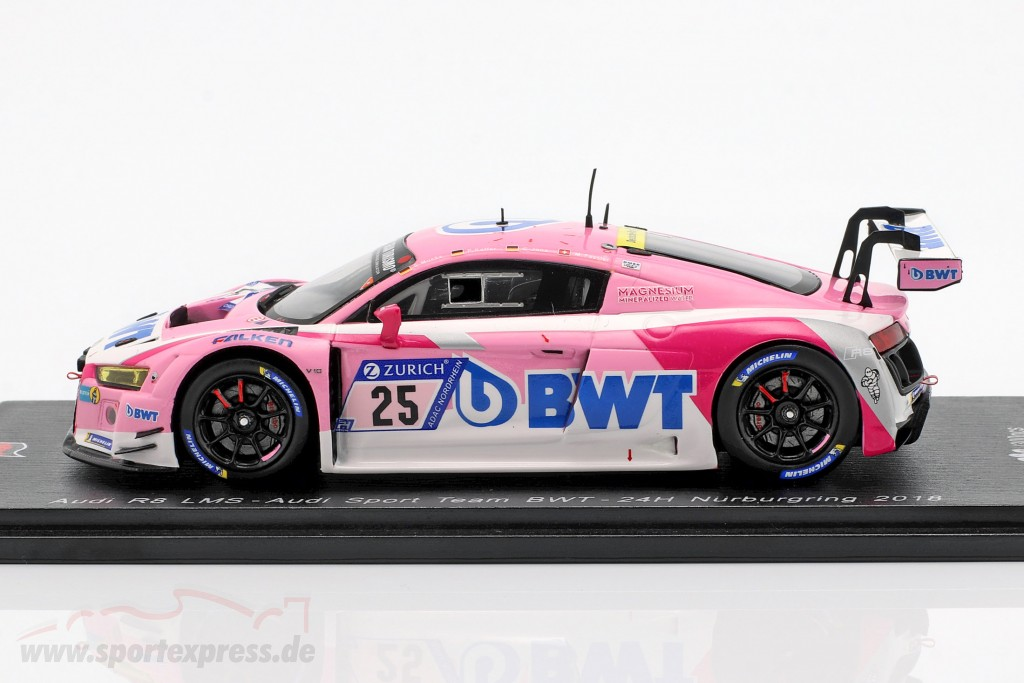 Audi R8 LMS #25 24h Nürburgring 2018 Audi Sport Team BWT
