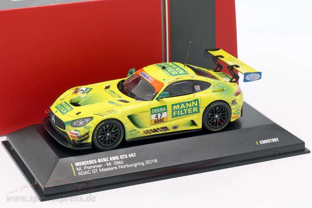 Mercedes-Benz AMG GT3 #47 ADAC GT Masters Nürburgring 2018 Pommer, Götz