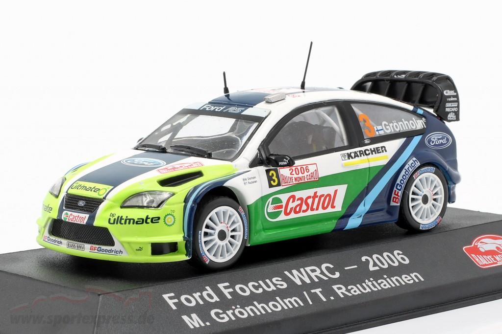 Ford Focus RS WRC 06 #3 Winner Rallye Monte Carlo 2006 Grönholm, Rautiainen