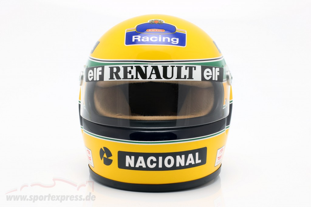 Ayrton Senna Williams FW16 #2 formula 1 1994 helmet