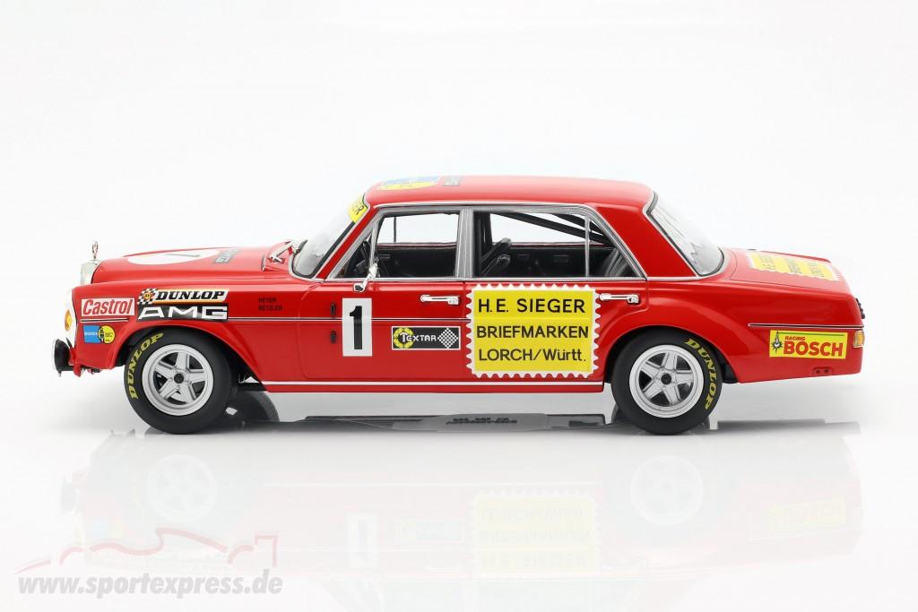 1:18 Minichamps Mercedes 300 SEL 6.8 #1 24h Nürburgring 1972