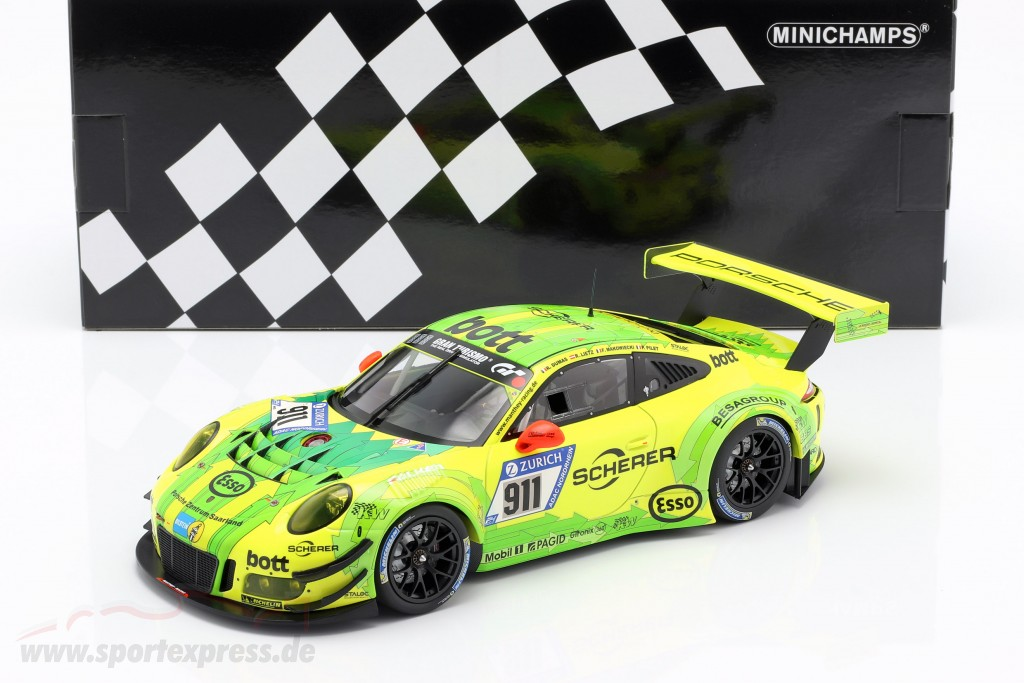 Porsche 911 (991) GT3 R #911 24h Nürburgring 2017 Manthey Racing Grello