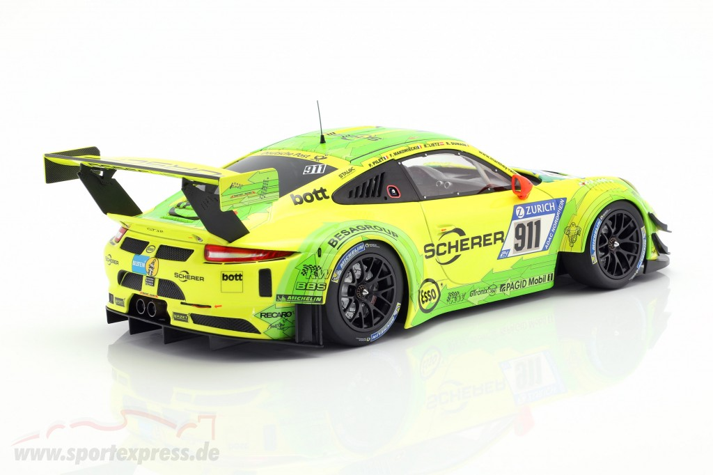 Porsche 911 (991) GT3 R #911 24h Nürburgring 2017 Manthey Racing Grello